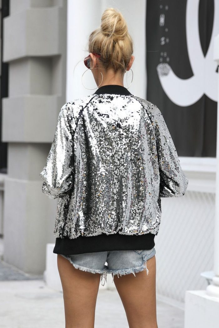 Sequined Clothes And Accessories For Women 2019