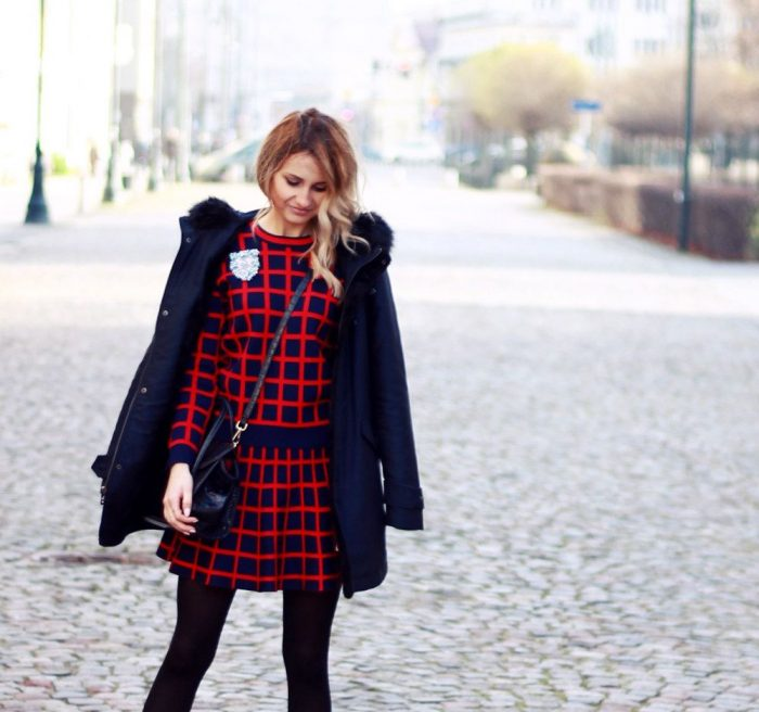 2018 Tartan Print Trends For Women (13)