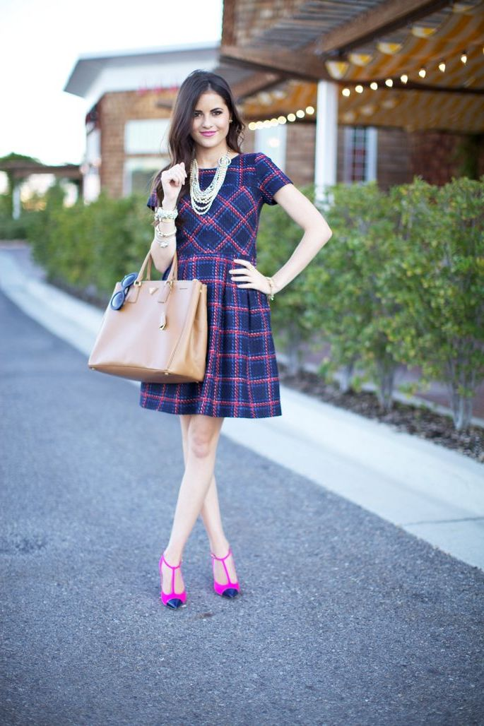 2018 Tartan Print Trends For Women (15)