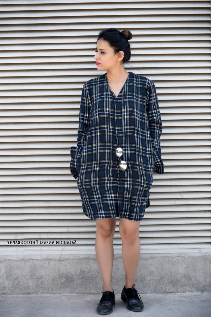 2018 Tartan Print Trends For Women (16)