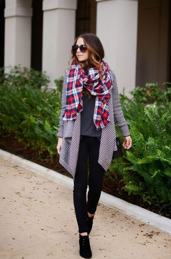 2018 Tartan Print Trends For Women (18)
