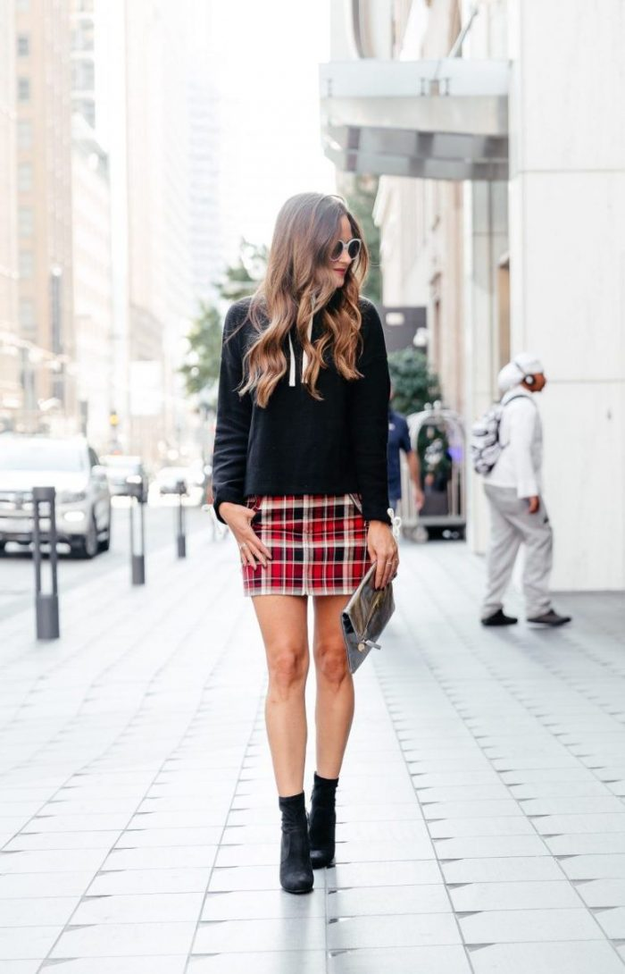 2018 Tartan Print Trends For Women (26)