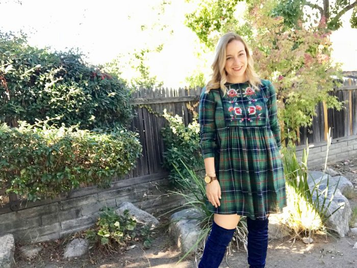 2018 Tartan Print Trends For Women (27)