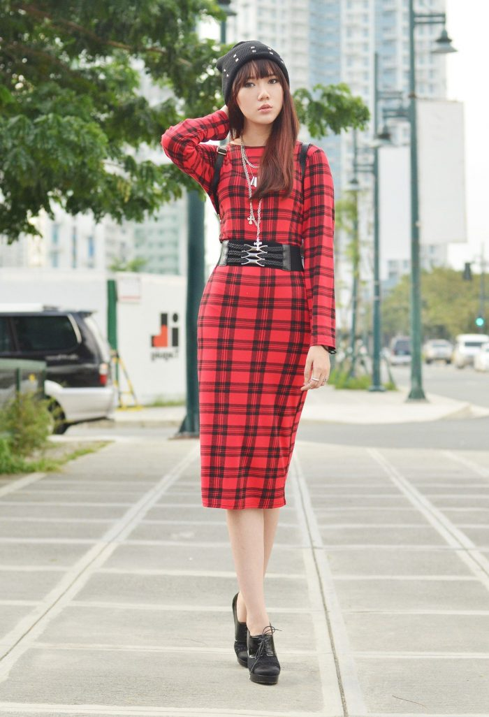 2018 Tartan Print Trends For Women (28)
