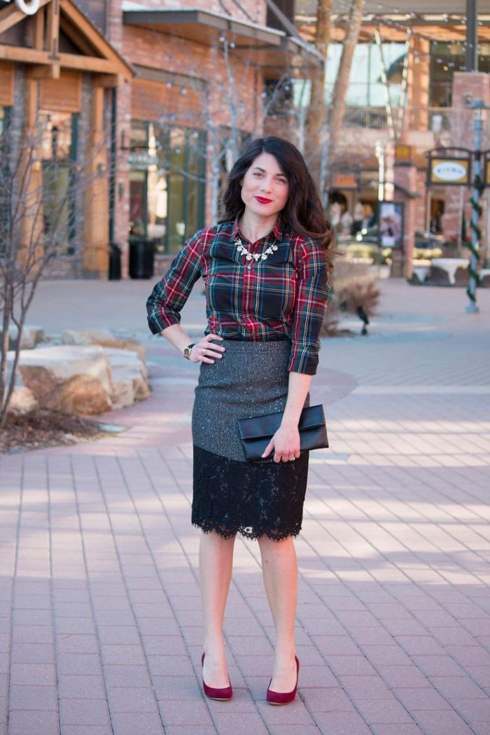 2018 Tartan Print Trends For Women (30)