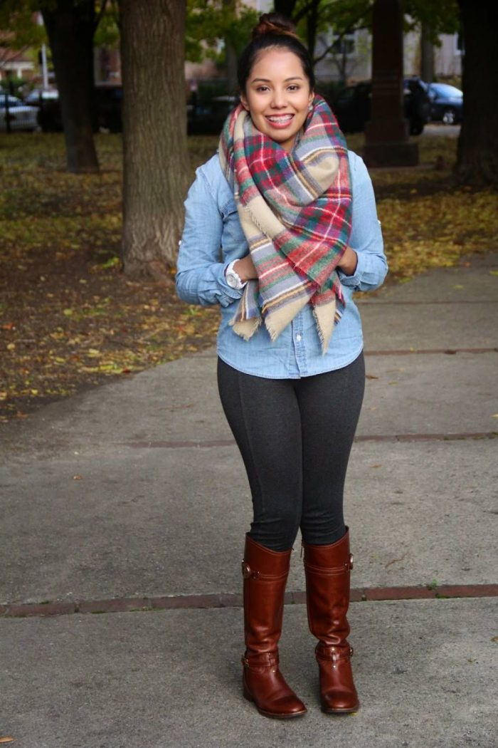 2018 Tartan Print Trends For Women (35)