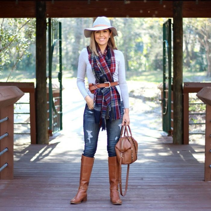 2018 Tartan Print Trends For Women (5)