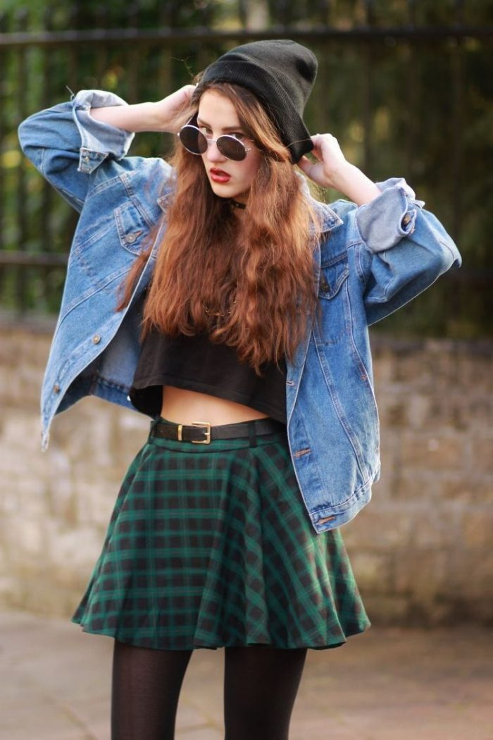 2018 Tartan Print Trends For Women (7)
