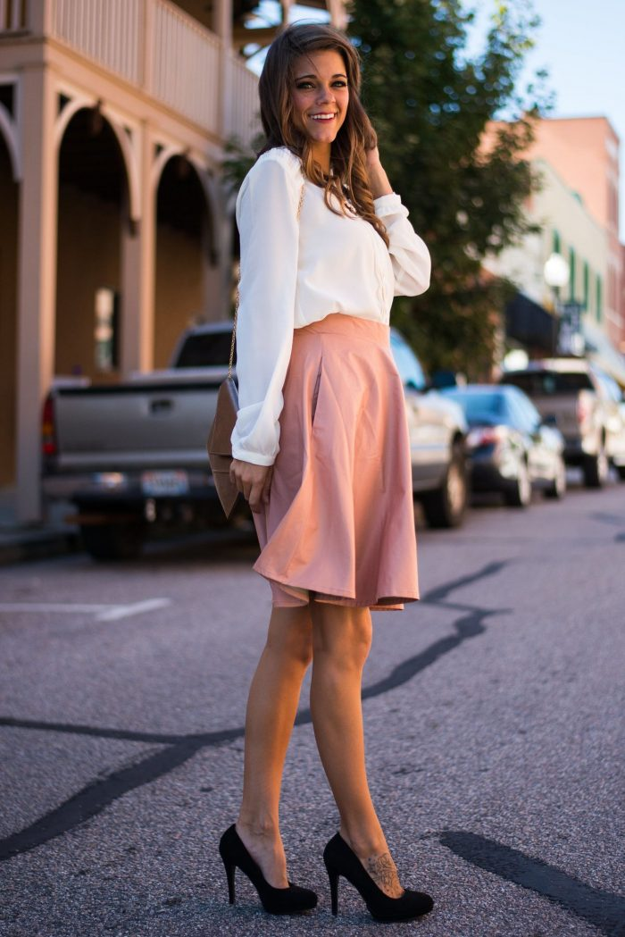 2018 Trendy Flared Skirts (10)