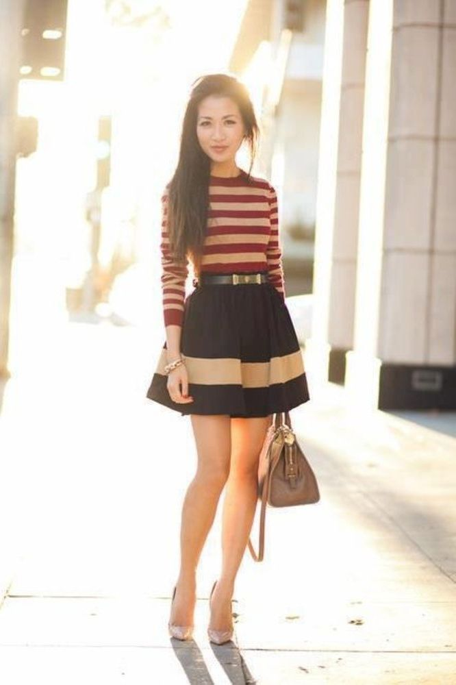 2018 Trendy Flared Skirts (11)