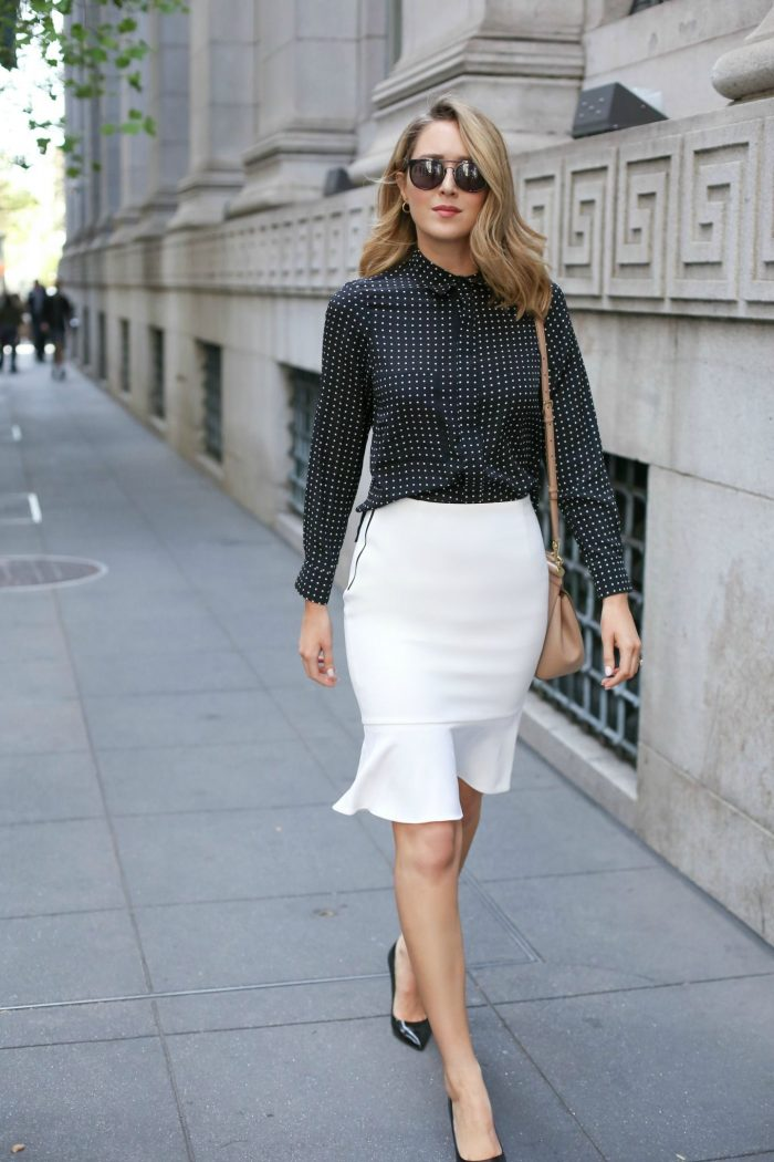 Flared Skirts Outfit Ideas 2020