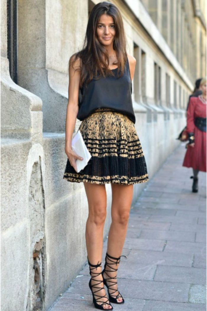 2018 Trendy Flared Skirts (7)