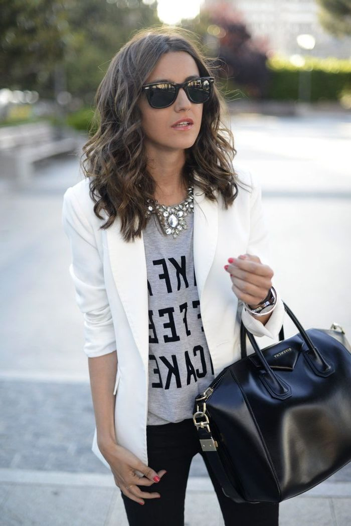 White Blazers For Women Awesome Looks 2019