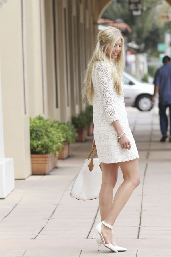 2018 White Lace Dresses (1)