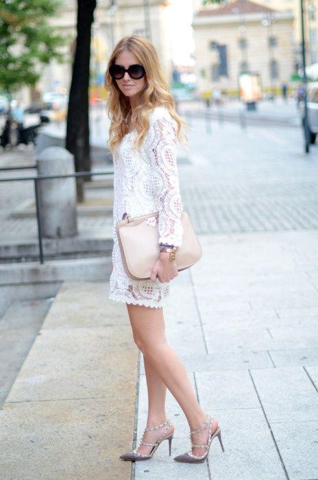 2018 White Lace Dresses (10)