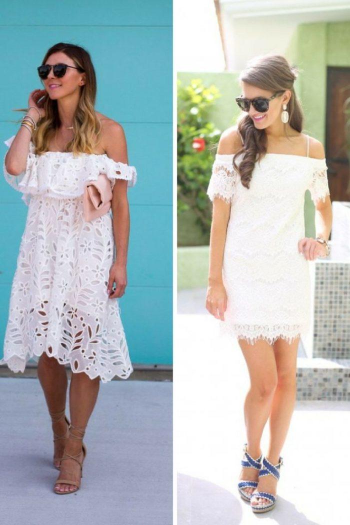 2018 White Lace Dresses (11)
