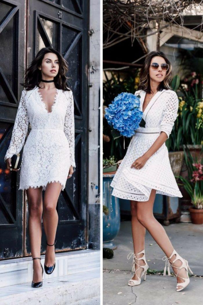 2018 White Lace Dresses (14)