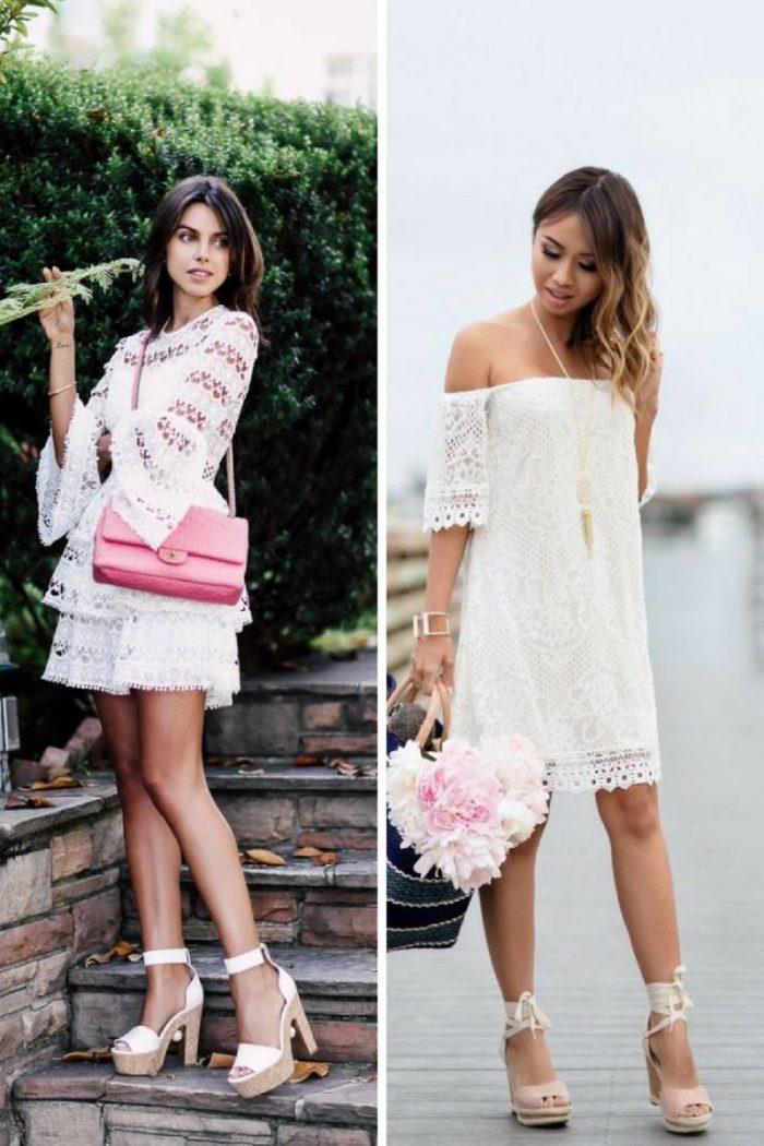 2018 White Lace Dresses (17)