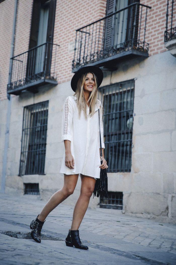 Women Plain White Shirts 2019