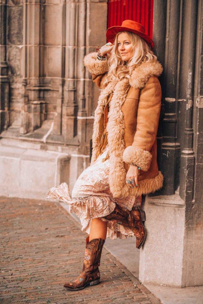 2018 Winter Boho Trend For Women (9)