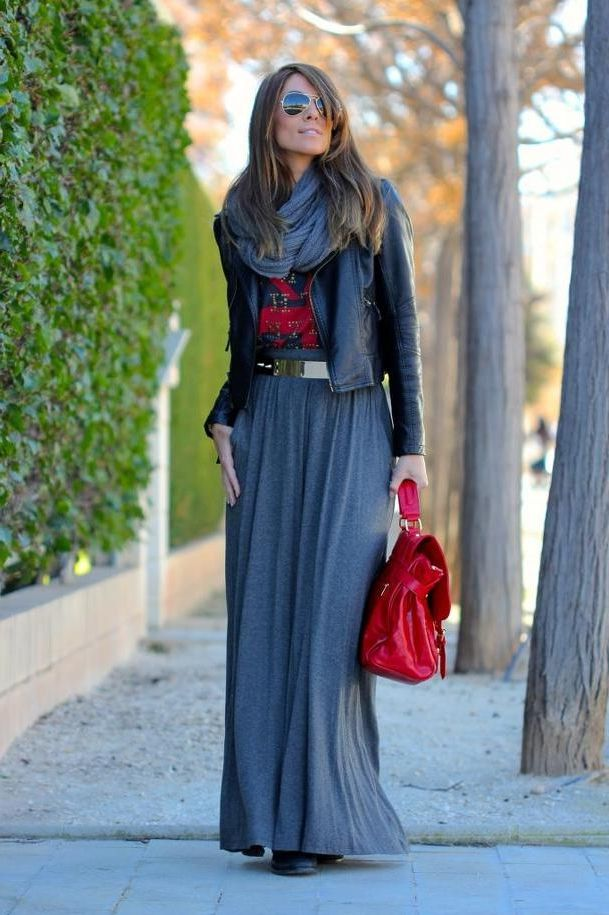 2018 Winter Maxi Skirts And Dresses (15)