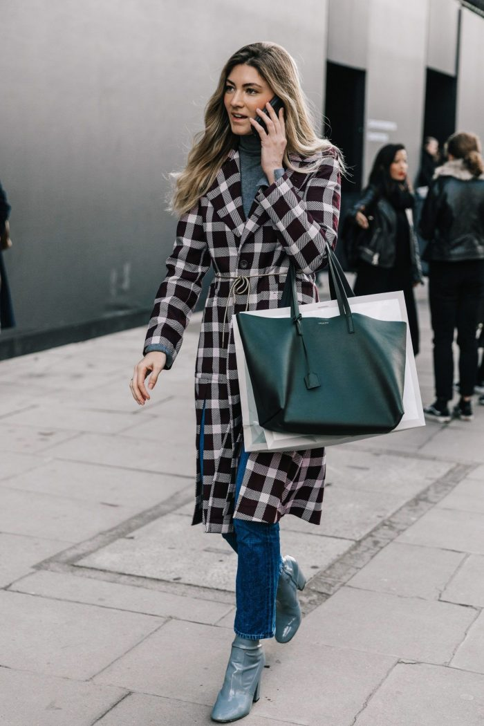Plaid Print Clothes And Accessories for Winter 2019