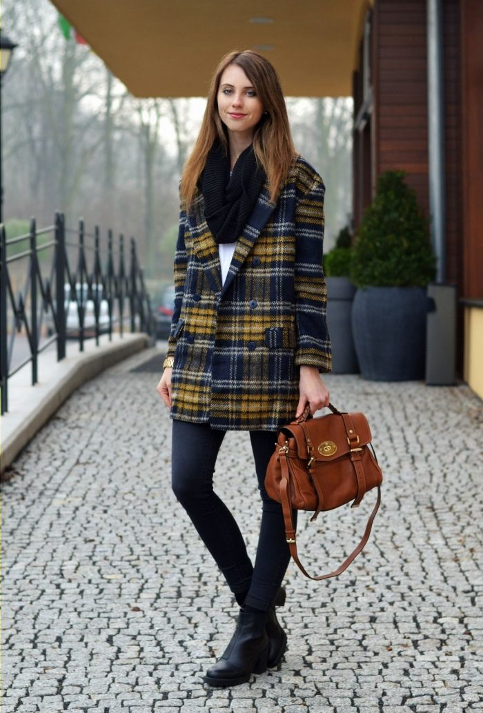 2018 Winter Plaid Print For Women (6)