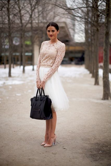 Romantic Winter Outfits For Women 2020