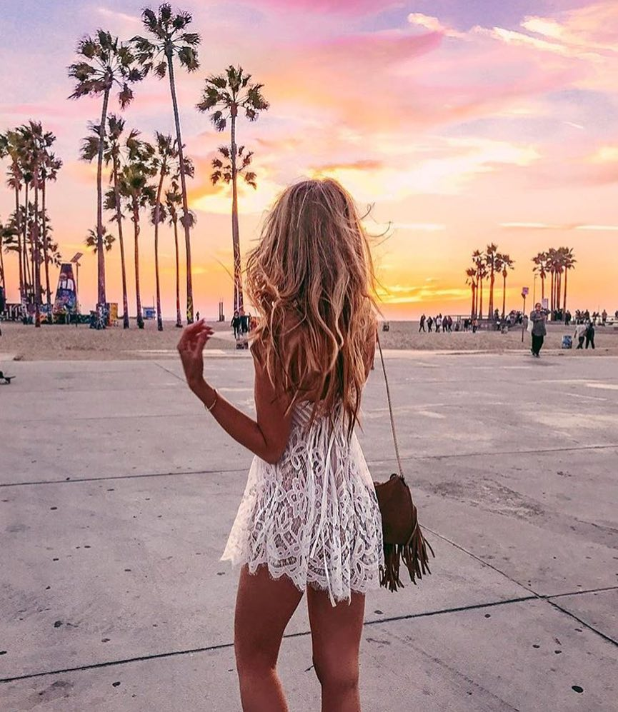 Bohemian Must Haves For Summer White Lace Mini Dress 2019
