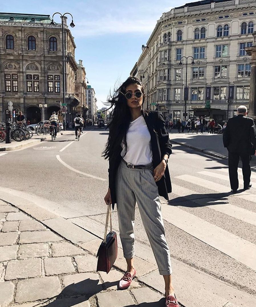 How To Style Mannish Pinstripe Pants This Spring 2021