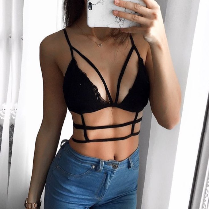 Can I Wear Black Bra Top With Cut Out Details This Summer 2019