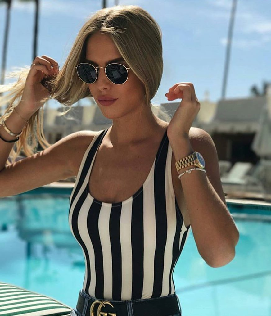 How To Wear Black-White Striped Bodysuits This Summer 2019