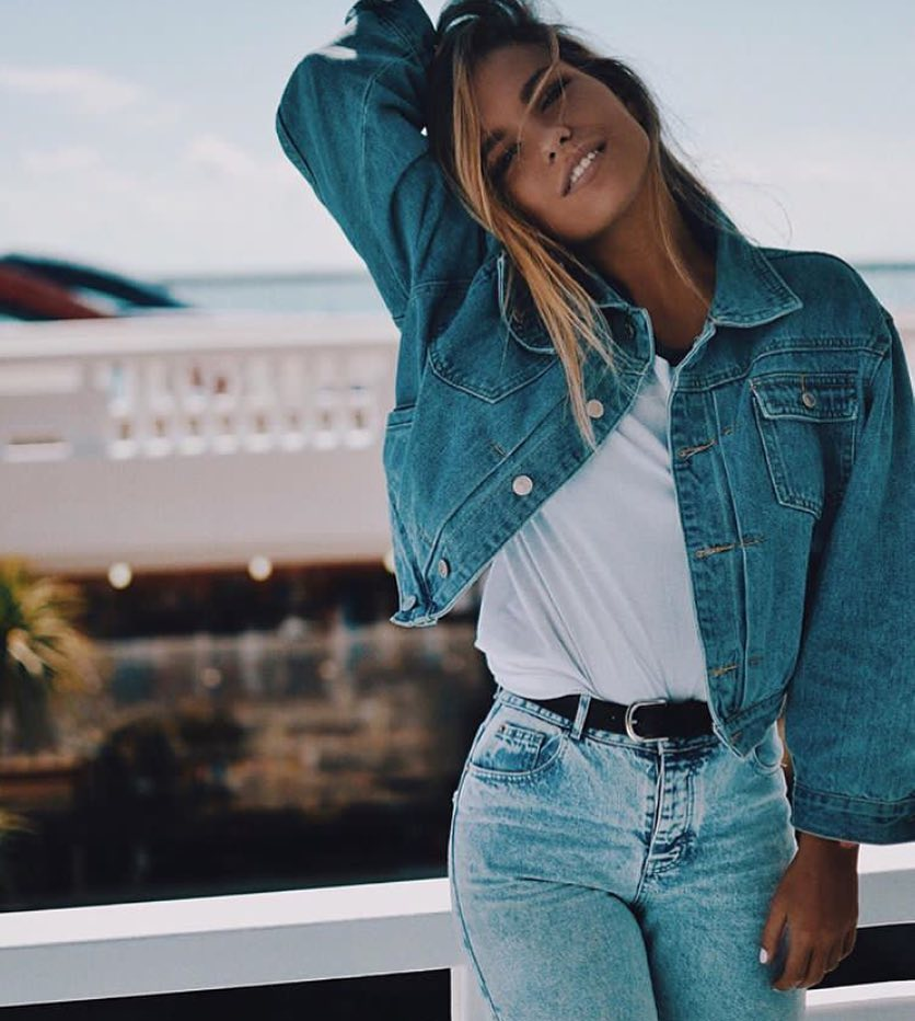 Double Denim Look For Summer Vacation 2020