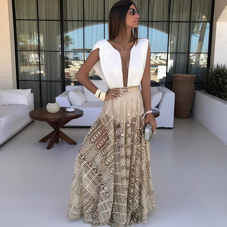 Two Piece Gown For Summer Cocktail Parties 2019