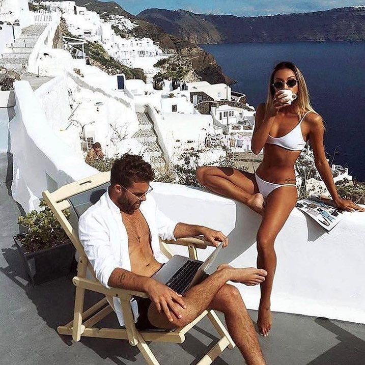 White Bikini Set For Santorini Summer Trip 2020