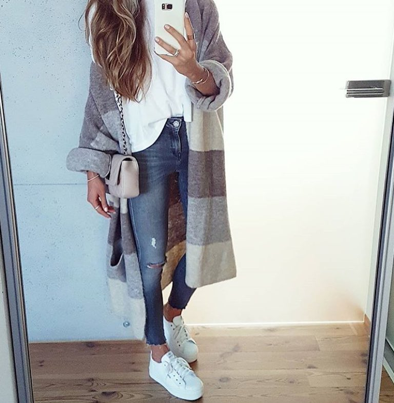 How To Style Blanket Cardigan This Spring Season 2019