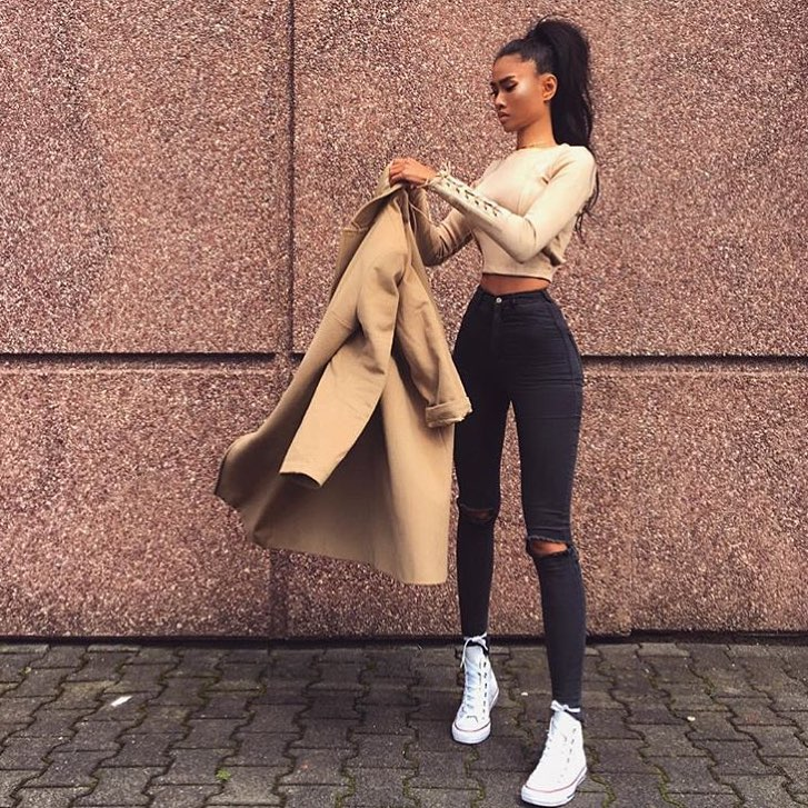 How To Make Classic Wool Camel Coat Look Modern And Chic 2019
