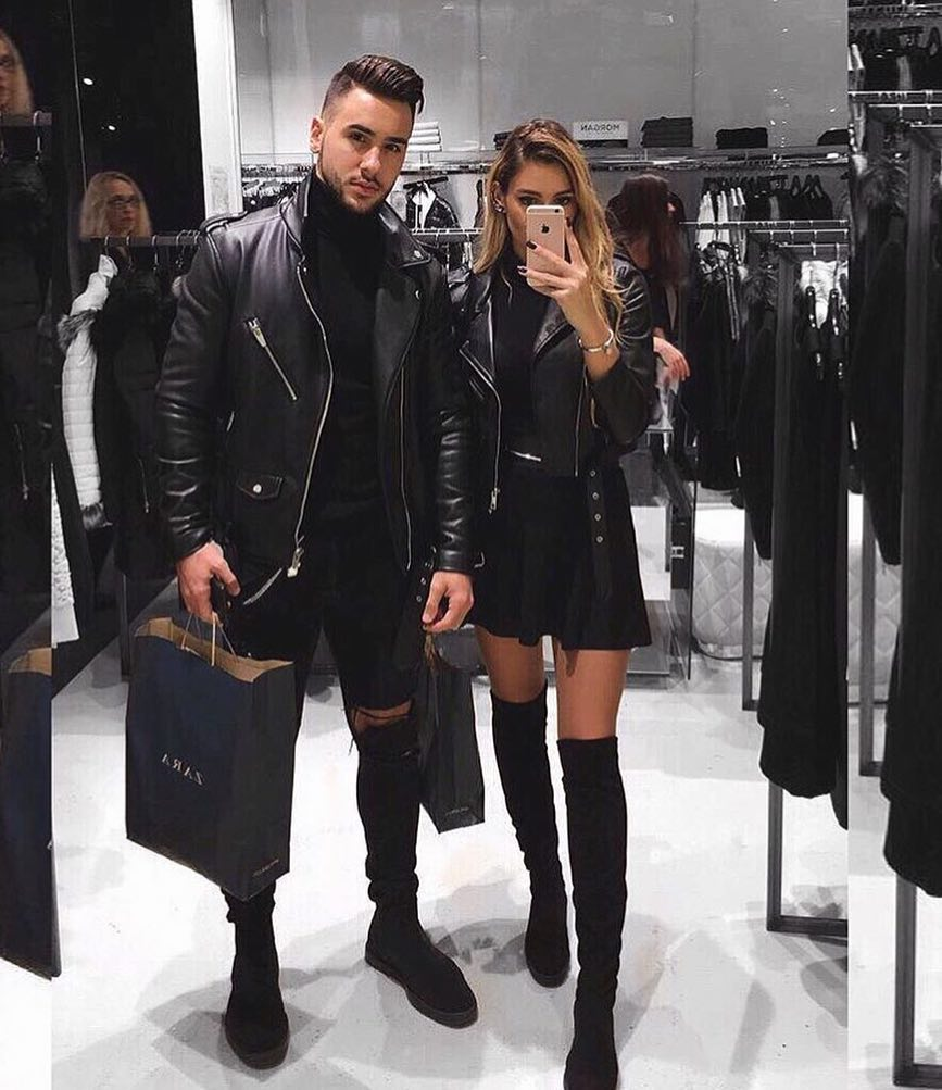 All Black Edgy Outfit Idea For Ladies 2020