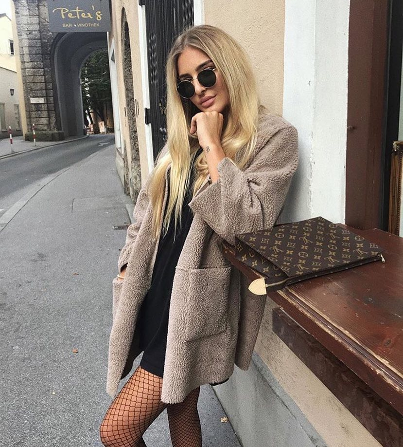 How To Style Teddy Bear Coat This Fall 2020