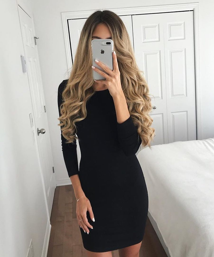 Little Black Dress For Fall: Simple, Classic And Ladylike 2020