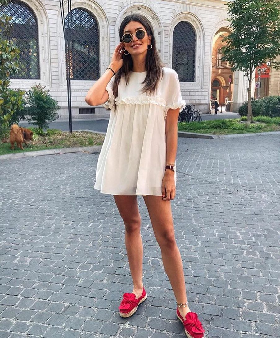 LWD And Fuchsia Espadrilles For Summer 2019