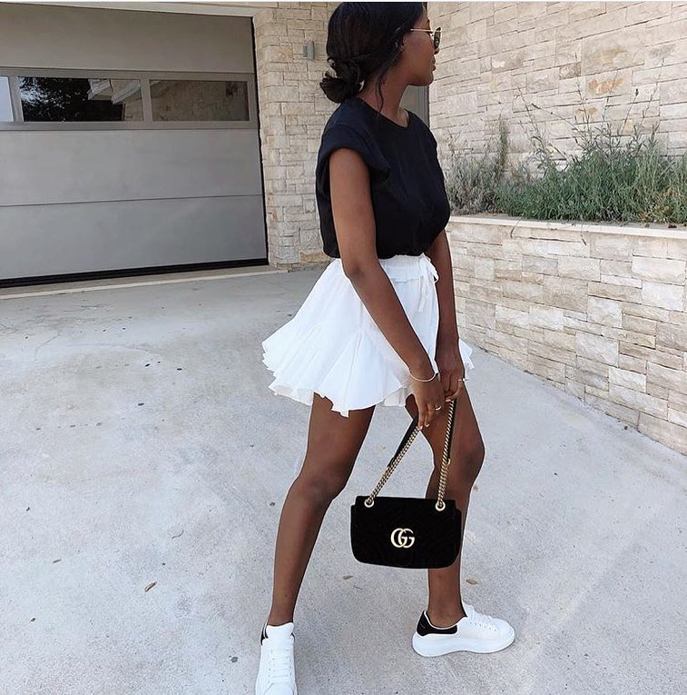 Black White Essentials For Summer Casual Vacation 2020