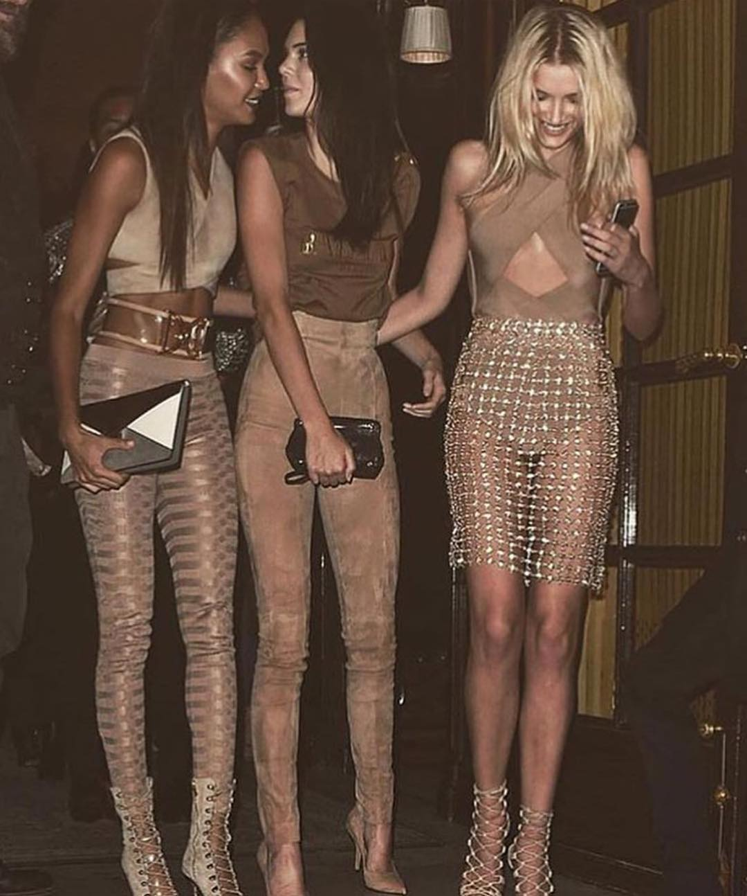 Nude Outfit Idea For Glamour Night Outs 2020