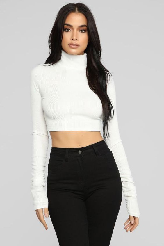 Best Winter Crop Tops That Look Sexy 2020
